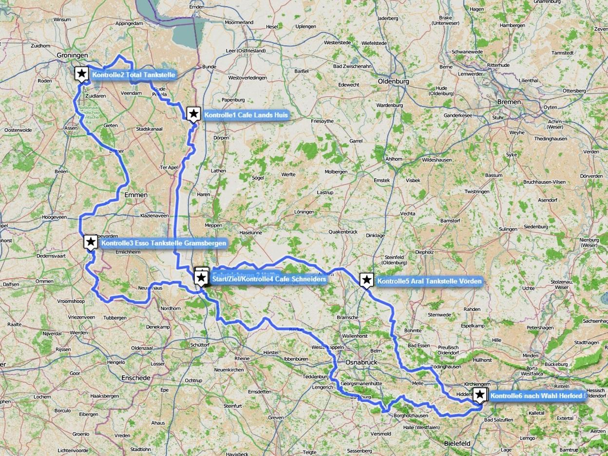 """Route """"Die Acht von Lohne"""""""