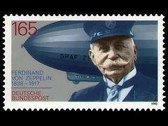 Briefmarke Zeppelin
