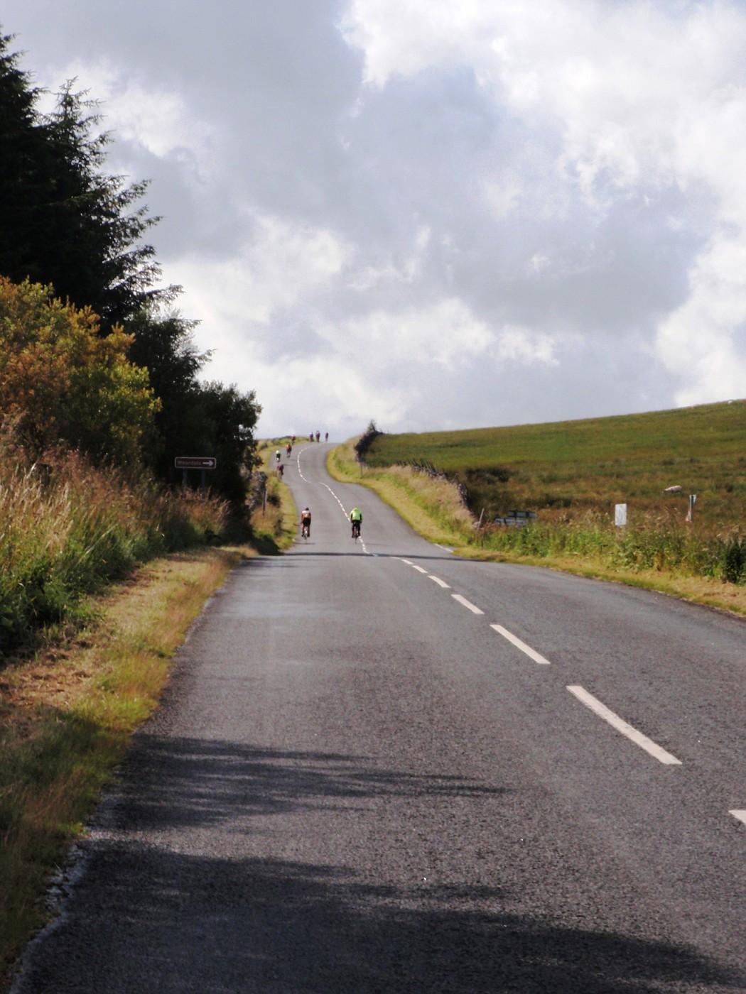 Road in Cumbria, England