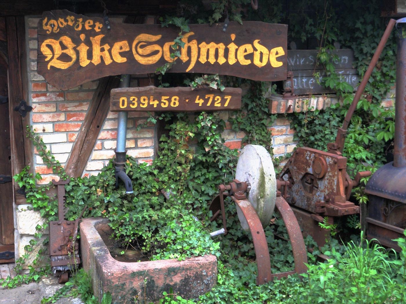 Bike-Schmiede in Zilly