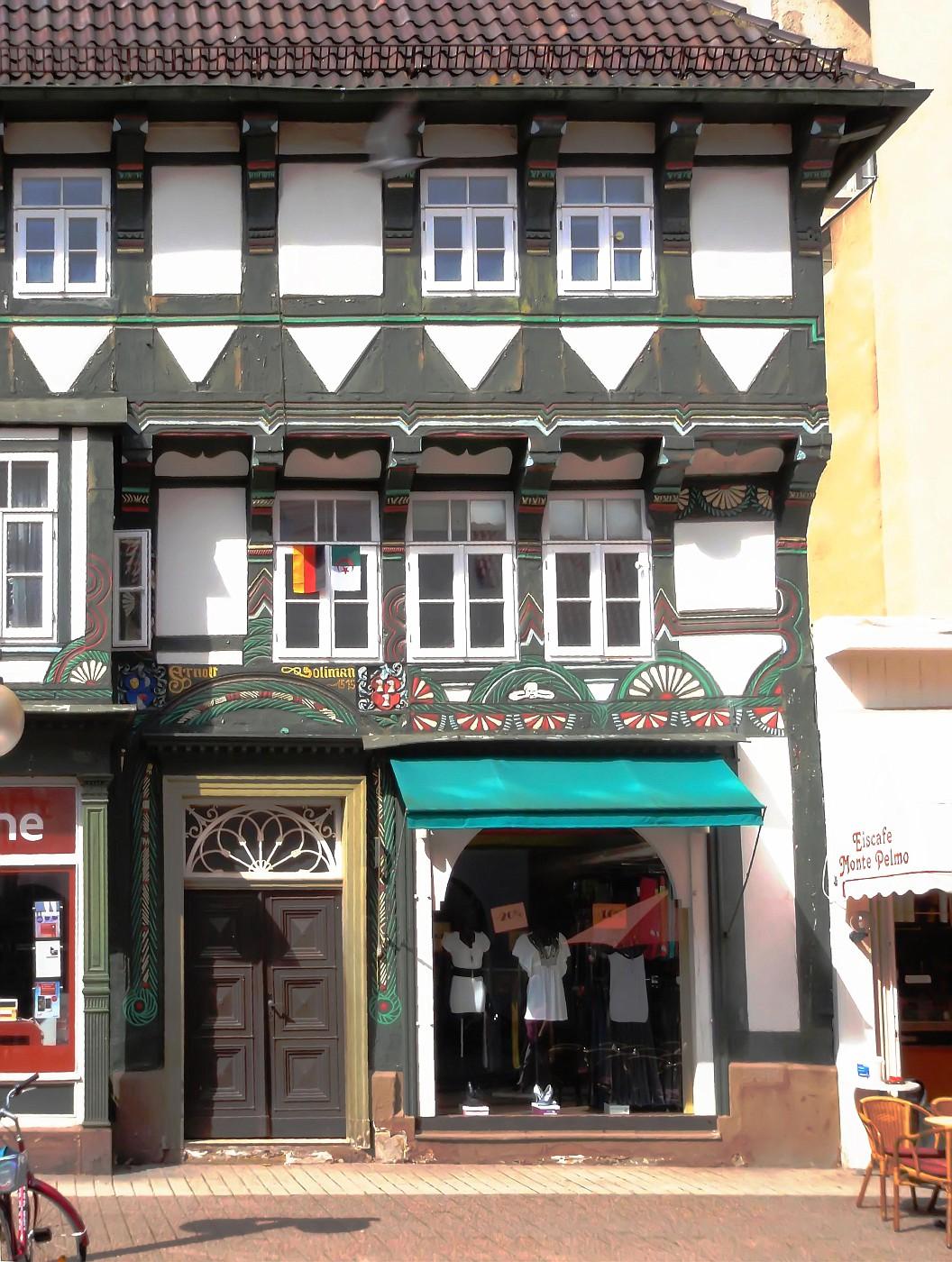Haus Soliman, Bäckerstraße