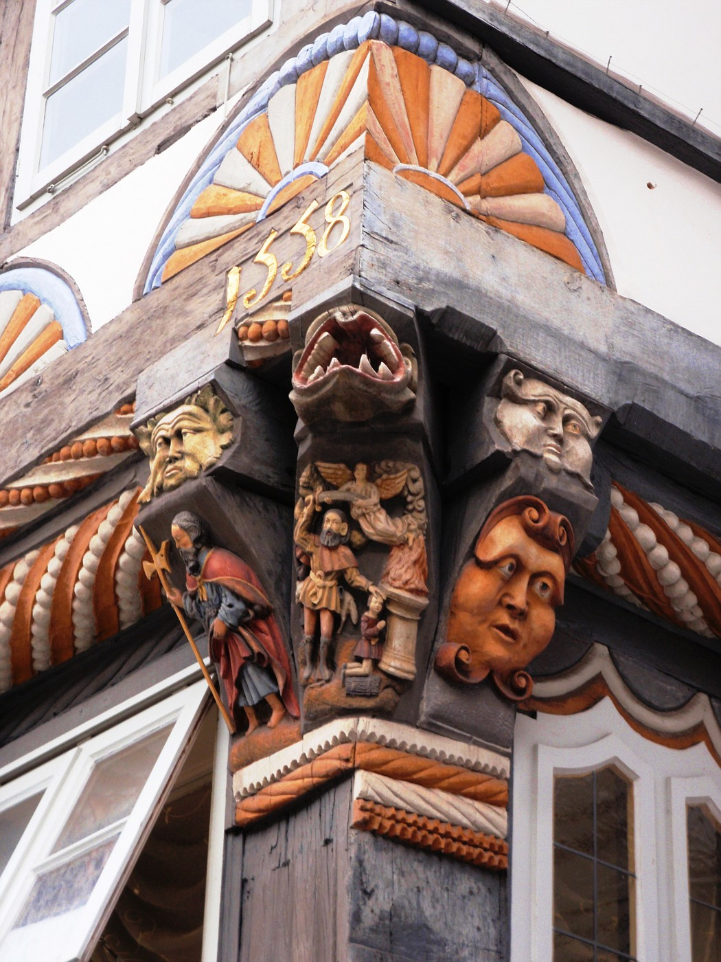 Dekoration am Stiftsherrenhaus
