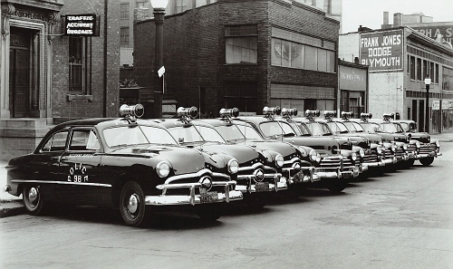 NY- Rochester Police 1949 Fords