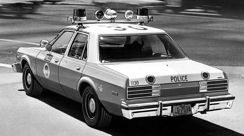 AZ- Scottsdale Police 1979 Dodge Aspen