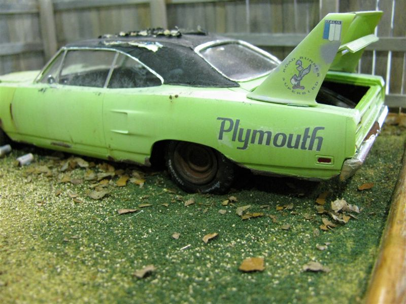 Diorama d'une dodge Plymouth Superbird  ( vu au NNL EAST) NNL2009760-vi