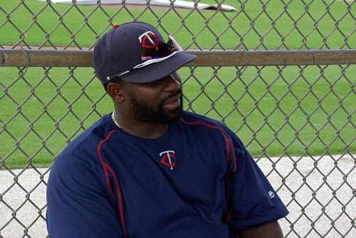 IMGP9465 - Twins minor league coach Tommy Watkins.