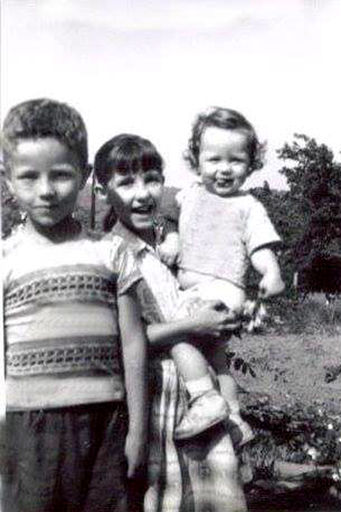 Sherlow Vick Sharpe, Gretta Sue Sharpe, and Bobby Gene Sharpe