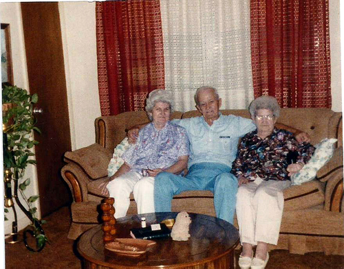 Mom , Aunt Evelyn and uncle Thomas