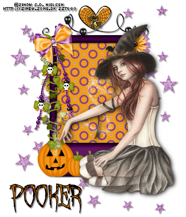 witch magic - pooker
