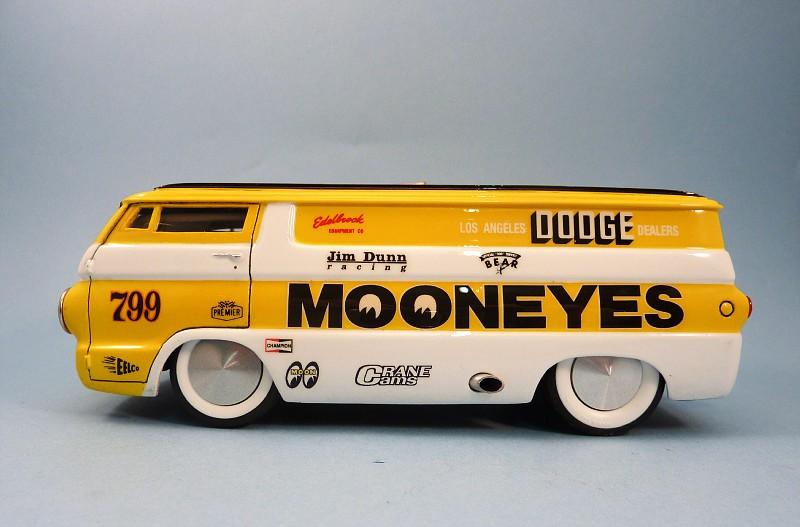 Van Moon  Dodge choppé racer Bonneville  006-vi