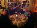 Saturday Night Dinner at the Tuckahoe Inn with Anita & Eddie, Gary Jr. and James, Erin and I (taking photo :-)