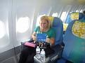 Honeymoon Bora Bora - Air Tahiti Nui Flight From LAX to Papeete (2)