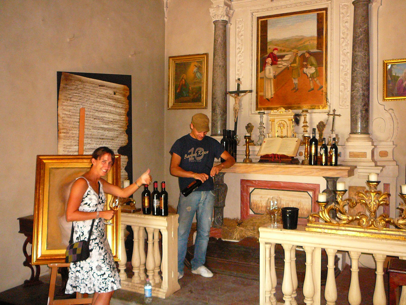 """Dievole Winery """"Church"""" with Shelly"""