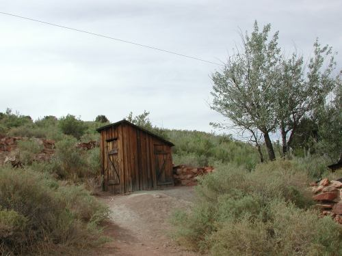 Pipe Springs outhouse