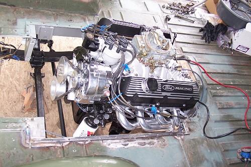 Ford Econoline Pickup Engine Swap