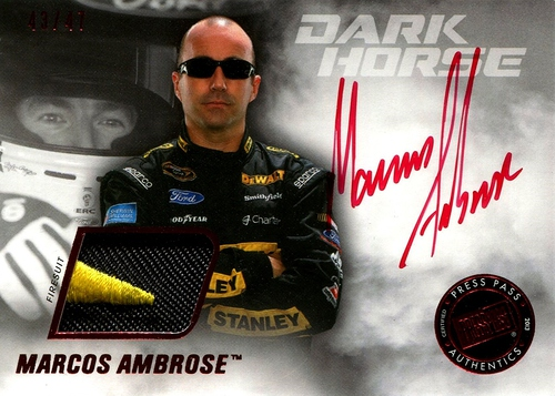 Firesuit 2013 Marcos Ambrose