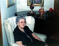 Gladys (Gigi) Gaines at her home, Amarillo, Texas, 1976