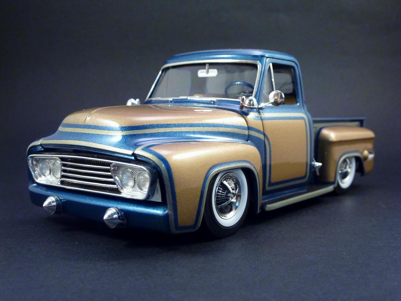 Dodge A 100 pickup avec remorque terminé Photo11-vi