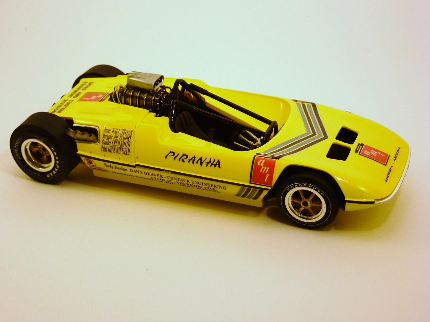 funny car piranha