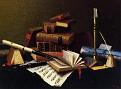 Still Life: Violin and Music [1888]