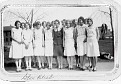 Girl's Glee Club - York HS - 1930.  My mother is pictured 3rd from the left.
