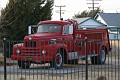 Bron, CA, antique rig in town park