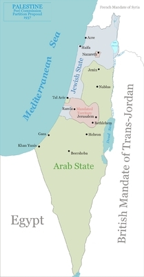 The Peel Commissions proposed two-state solution (1937). The Arabs said no.