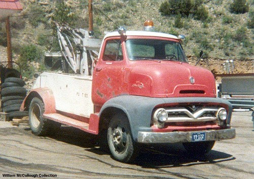 1955 Ford COE tow truck