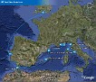 Braemar's Itinerary - Never made Tangier, but had Cartagena instead on 18 July 2008