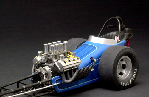 Photo: 1/16 Scale A/Fuel Dragster | Fictional drag cars