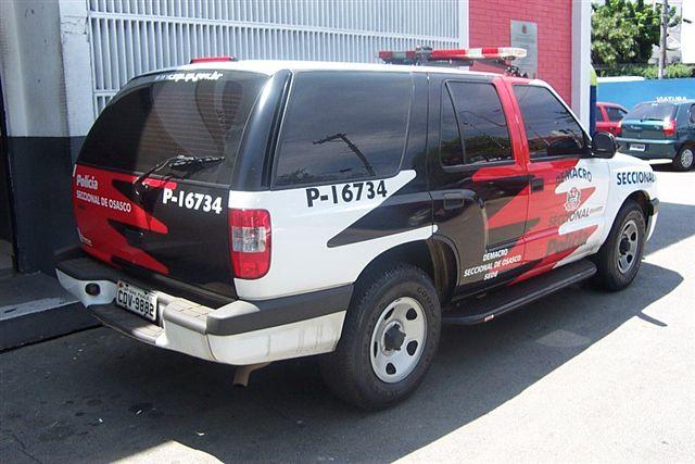 Brazil - Viatura da Polícia Civil Blazer 1 - Secc  Osasco