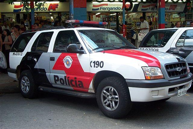 Brazil - Viatura da Polícia Militar Blazer 4 - 07 BPM
