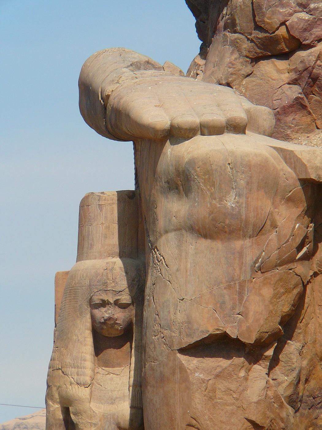 Queen at Colossi of Memnon