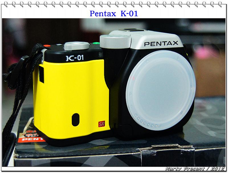 Open Pentax K-01