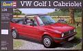 Revell VW Golf 1 Cabriolet 1/24 (ARRIVÉ)