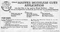 55 CHEVY REVELLMASTER MODELERS CLUB APPLICATION