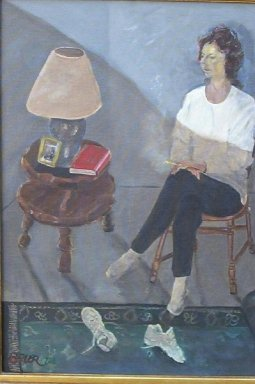 MAUREEN, Original Painting by Jack Bauer, Class of 1960