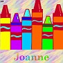 Crayons at schoolJoanne