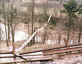 19-Swinging Bridge at Montgomery in 1960's